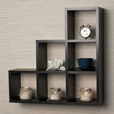 wall cubes black wood wall shelves display contemporary home decor wall mounted storage cubes white