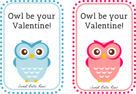 owl valentine s day cards to print. Delighful Valentine Owl Be Your Valentine Free Printable Sweet Bella Roos Printable Owl Pink Throughout S Day Cards To Print Grace And Good Eats