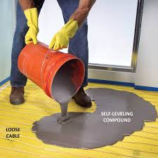 3 types of electric heated floors diy