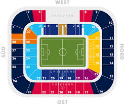 Red Bull Arena Seating Chart Red Bull Arena Fc Red Bull Salzburg Football Tripper