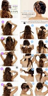 easy updo hairstyles for long hair step by step ged easy wedding updos long hair archives