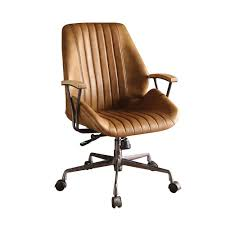 leather office chair. Acme Furniture Hamilton Coffee Leather Top Grain Office Chair