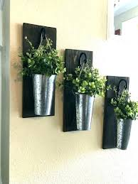 hanging wall planters metal indoor garden small wonderful white ceramic egg planter h