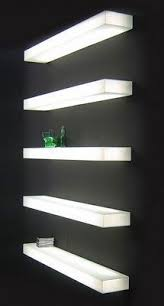 glass shelf lighting. Floating Glass Shelves For Cable Box Shelf Lighting