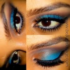 this look is a perfect makeup look for blue eyes so you can definitely pull this off