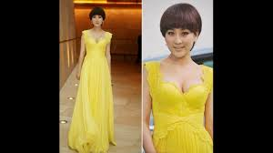 ultimate way to makeup your lips while wearing yellow dress to get gorgeous look