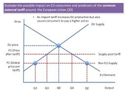 a essay exam skills common external tariffs in the eu eu knowledge application analysis evaluation 5