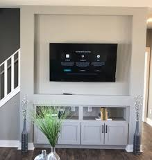 drywall entertainment center r anell
