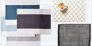13 best placemats for your dinner table 2018 woven and cloth kitchen placemats