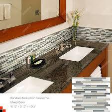Decorative Tile Strips Wall decorative tile strips Glass Stone Strip Mosaic Crystal glass 7