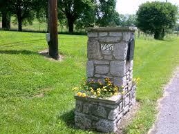 stone mailbox designs. Stone Mailbox Designs