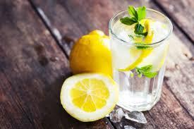 water met citroensap afvallen
