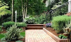 garden bed edging landscape brick bunnings