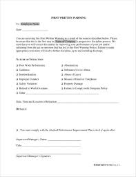 How To Write A Warning Letter To An Employee Free 13 Employee Warning Notice Samples Templates In Docs