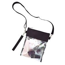 Purse Design Games Clear Crossbody Purse Bag Nfl Ncaa Pga Stadium Approved Clear Shoulder Tote Bag With Wrist Strap For Work Sports Games