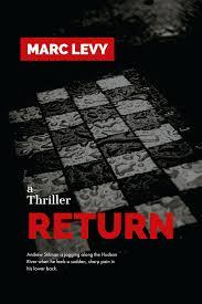 thriller return book cover