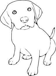 cute dog clipart black and white. Delighful And Black And White Puppy Clipart Png Vector Illustration Of Cute For  Coloring In In Cute Dog Clipart Black And White T