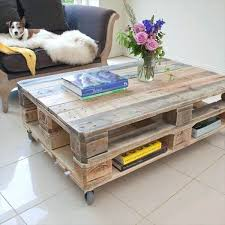 industrial diy furniture. Diy Industrial Furniture Pallet Coffee Table With Wheels And . A