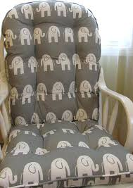glider rocking chair cushions replacement glider or rocking chair cushion set grey and by glider rocking