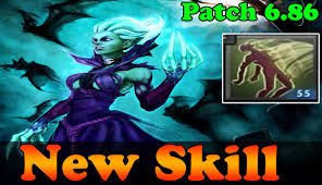 dota 2 patch 6 86 death prophet new skill spirit siphon