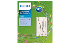 Philips Dewdrop Lights Plug In Philips 30ct Christmas Usb Powered Led Dewdrop Fairy String