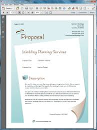 wedding planner services sample proposal wedding catering contract sample