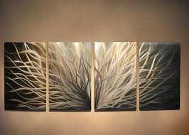 metal wall art modern abstract decor by miles shay by inspiringart