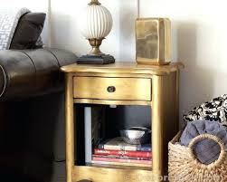 painted furniture makeover gold metallic. Metallic Painted Furniture Pinterest Gold Table Makeover E