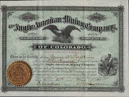 Example Of Share Certificate Gorgeous Colorado Mining Stock Certificates Page 48