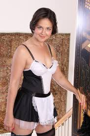 AllOver30 Free Sexy French Maid Carlita Johnson
