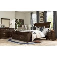 Bedroom Sets Laurel 730 7 pc Queen Sleigh Storage Bedroom Set at ...