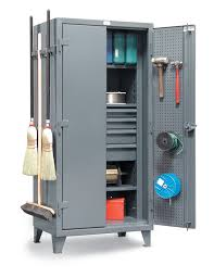 Strong Hold Cabinets Strong Hold Products Janitorial Tool And Supply Storage Cabinet