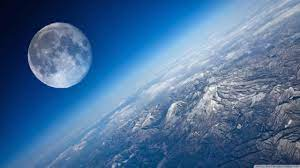 Earth And Moon Ultra HD Desktop ...