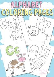 Small Picture Free Printable Alphabet Coloring Pages Easy Peasy and Fun