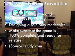 Video Game Designer Responsibilities Video Game Developer By Gunnar Applegate