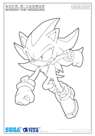 Small Picture Shadow The Hedgehog Different Coloring For The Coloring Pages
