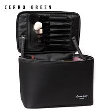 cerro qreen makeup makeup artist makeup storage box vanity case with luge suitcase bag embroidery patterns