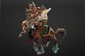 centaur warrunner set artwork dota 2 and e sports geeks dota 2
