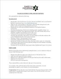 Sample Resume For Chef Position Line Cook Resume Sample Resume