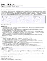 Human Resources Generalist Resume Stylish Ideas Human Resources
