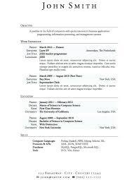 Sample Student Resume Format College Student Resume Format For