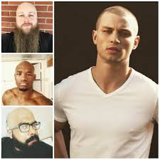 Bald Hair Style mens shaved head styles for 2017 mens hairstyles and haircuts 3310 by wearticles.com