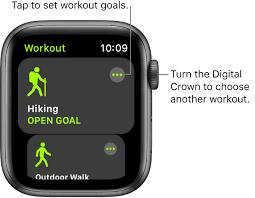 start a workout on apple watch apple