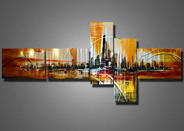 amazing cityscape wall art metal painting sive panel modern design home furniture building artwork artistic contemporary  on sensual metal wall art with wall art amazing pictures of cityscape wall art cityscape pictures