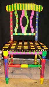 Hand Painted Furniture  Google Search  Handpainted  Pinterest Hand Painted Benches
