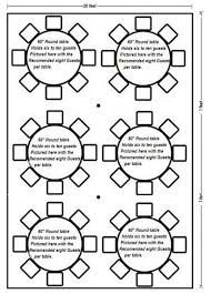 how many does a 60 round table seat designs