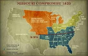 the missouri compromise of in simplistic terms forever  the missouri compromise of 1820 in simplistic terms forever prohibited slavery in the former louisiana purchase territory north of 36 degrees