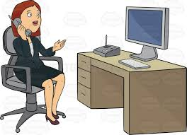 Image result for woman on the phone clipart