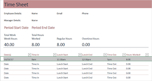 Timesheets Sample Need A Timesheet Template To Track Your Hours Here Are 12