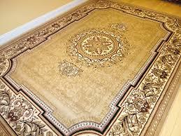 new persian tabriz style beige rug
